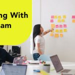 working with team